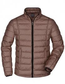 Mens Quilted Down Jacket